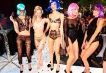 Marlene von Steenvag mit Models