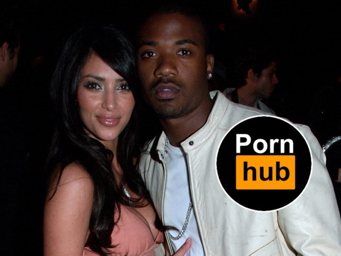 kim kardashian and ray j - pornhub news