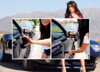 get dents out of car with dildo