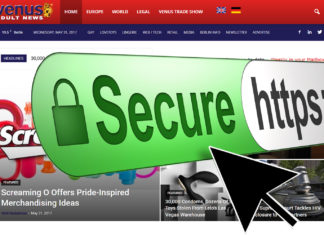 Venus Adult News moves to https with an ssl certificate