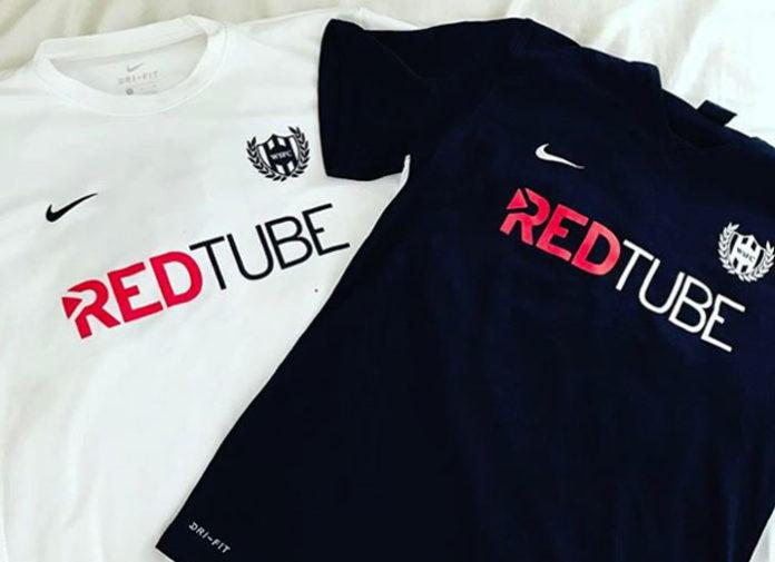 redtube sponsors soccer team