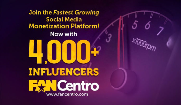 fancentro 4000+ influencers