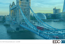 Win a city trip to London with EDC