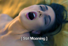 moaning