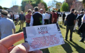 Stadt frei von Porno