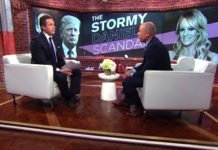 Michael Avenatti in an interview with Wolf Blitzer on CNN talking about the Donald Trump vs Stormy Daniels law suite