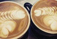 erotic latte coffee cream art