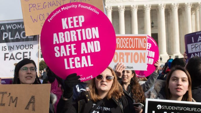 pro abortion demonstration