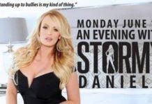 Stormy Daniels in Canada