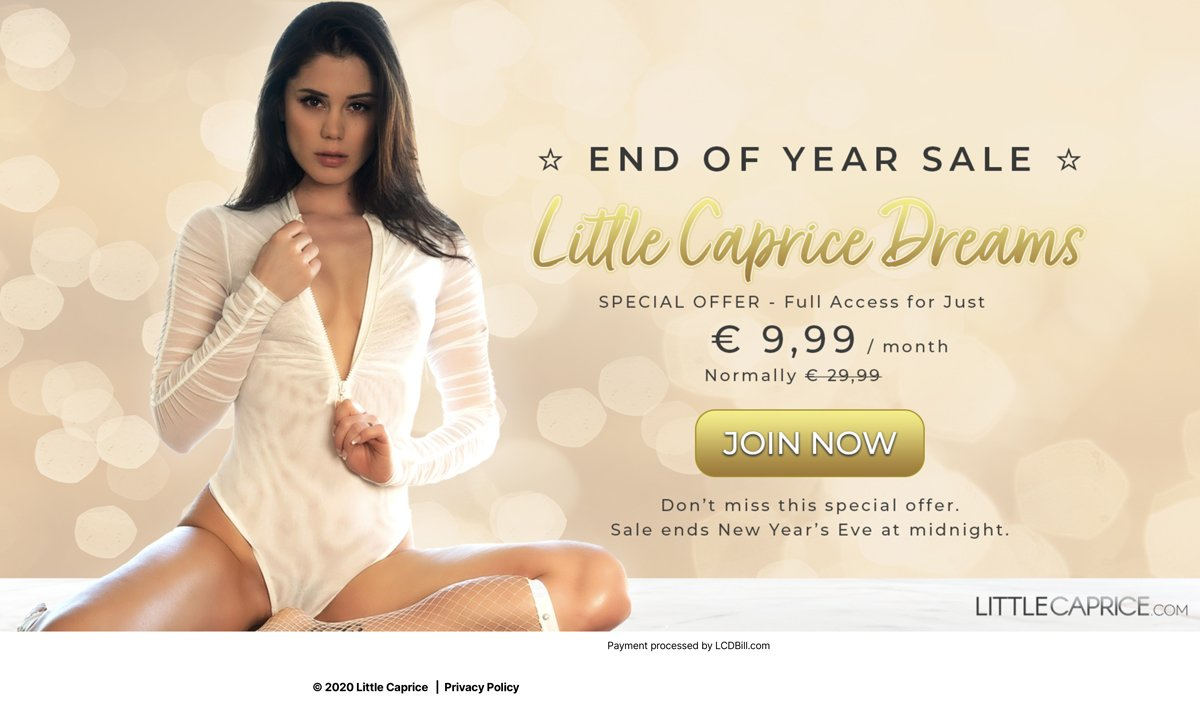 Little Caprice End of year Sale